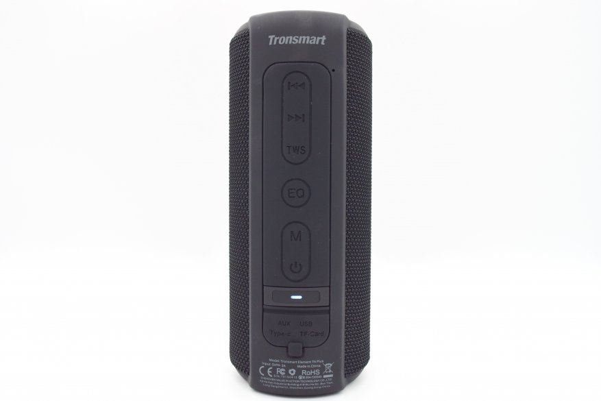 مكبر صوت لاسلكي Tronsmart T6 Plus: تصميم محدث ، عناصر تحكم محسنة ، لكن ... 5
