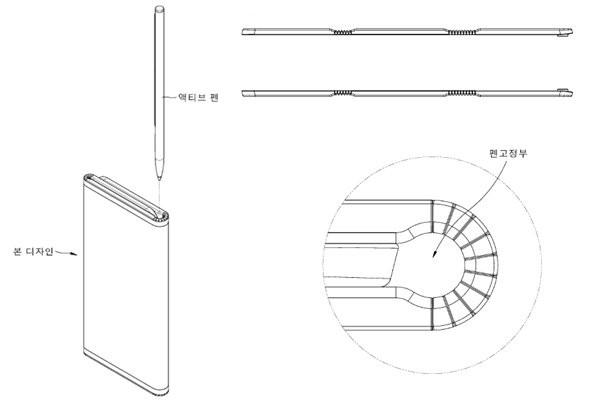 تعرض براءة اختراع LG هاتفًا ذكيًا قابل للطي ثلاثي الطي 2