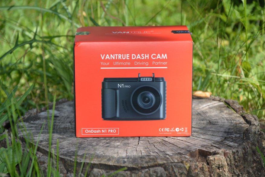 Tiny Vantrue N1 Pro dashcam مع وظائف لائقة جدًا 1