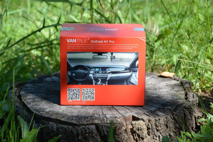 Tiny Vantrue N1 Pro dashcam مع وظائف لائقة جدًا 2