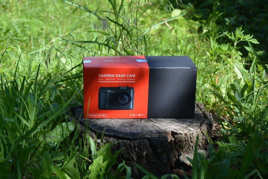 Tiny Vantrue N1 Pro dashcam مع وظائف لائقة جدًا 4