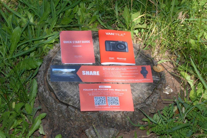 Tiny Vantrue N1 Pro dashcam مع وظائف لائقة جدًا 6