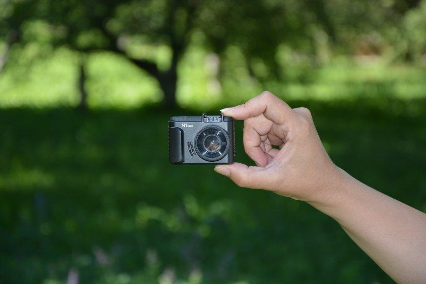 Tiny Vantrue N1 Pro dashcam مع وظائف لائقة جدًا 10