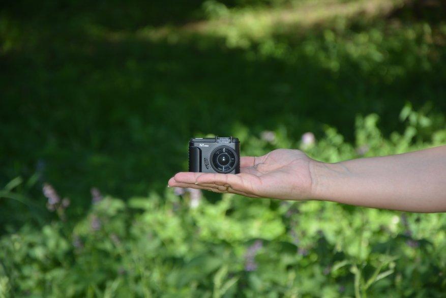 Tiny Vantrue N1 Pro dashcam مع وظائف لائقة جدًا 11