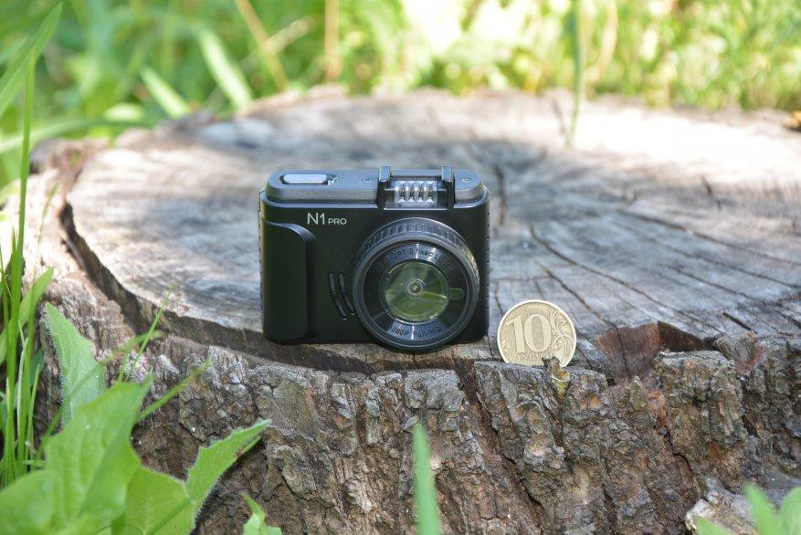 Tiny Vantrue N1 Pro dashcam مع وظائف لائقة جدًا 12