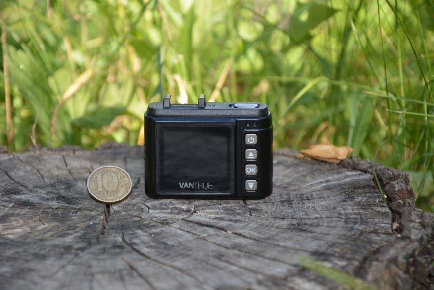 Tiny Vantrue N1 Pro dashcam مع وظائف لائقة جدًا 14