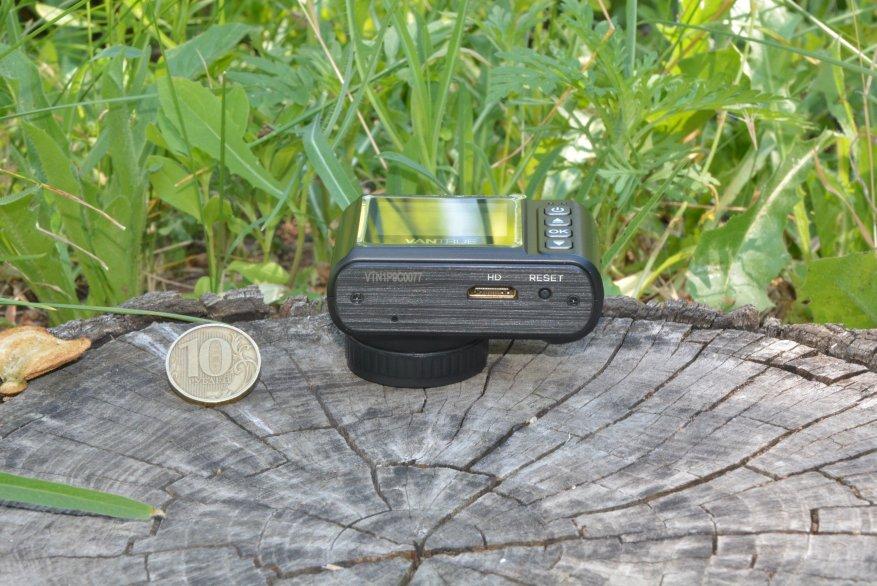 Tiny Vantrue N1 Pro dashcam مع وظائف لائقة جدًا 17