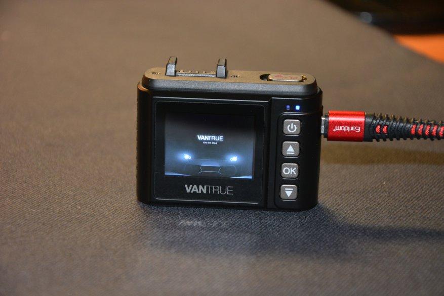 Tiny Vantrue N1 Pro dashcam مع وظائف لائقة جدًا 34