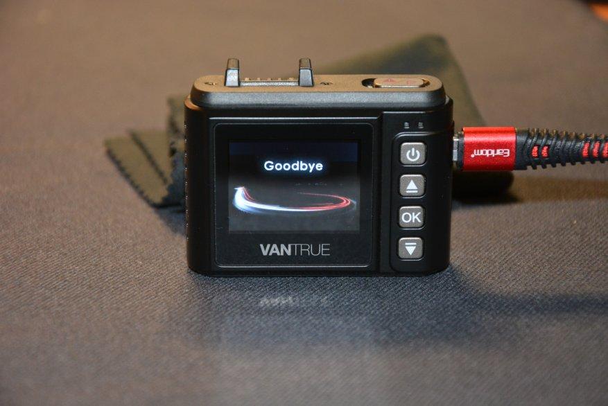 Tiny Vantrue N1 Pro dashcam مع وظائف لائقة جدًا 35
