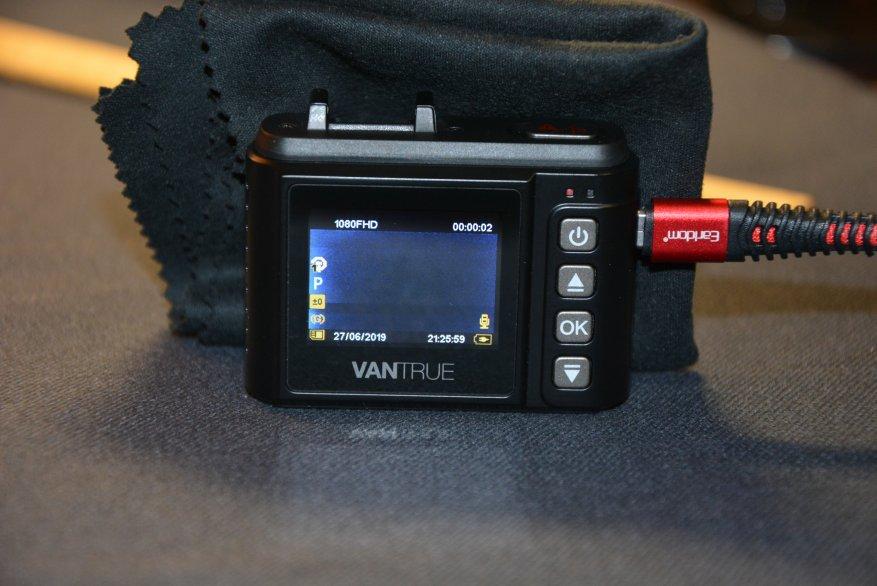 Tiny Vantrue N1 Pro dashcam مع وظائف لائقة جدًا 36