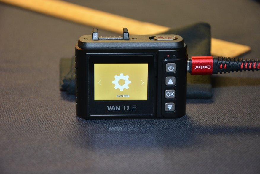 Tiny Vantrue N1 Pro dashcam مع وظائف لائقة جدًا 39