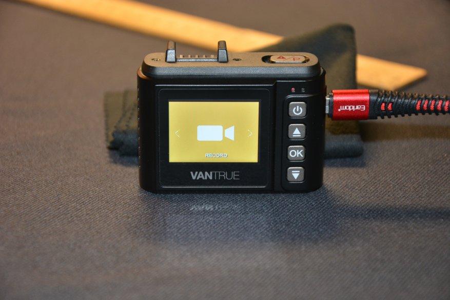 Tiny Vantrue N1 Pro dashcam مع وظائف لائقة جدًا 45