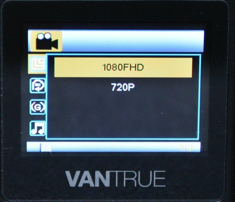 Tiny Vantrue N1 Pro dashcam مع وظائف لائقة جدًا 47