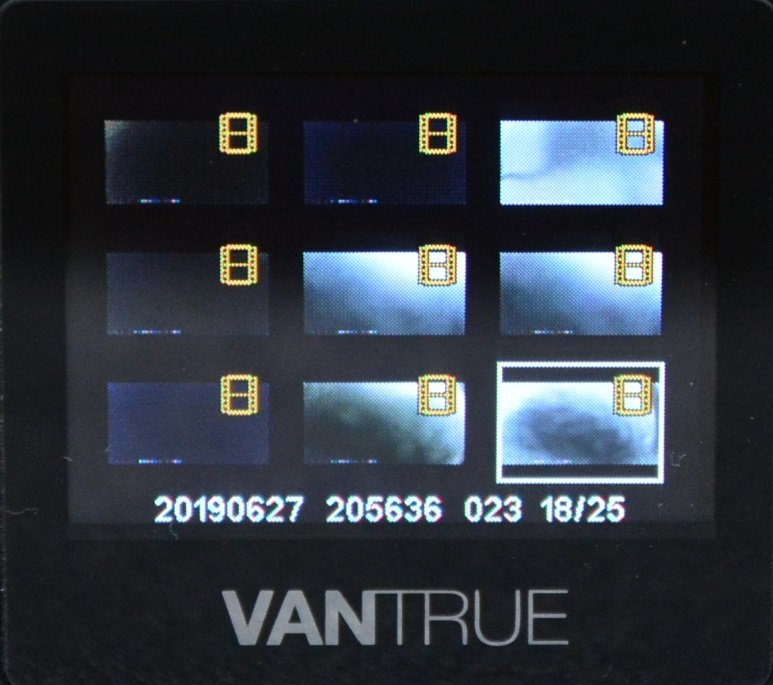 Tiny Vantrue N1 Pro dashcam مع وظائف لائقة جدًا 71