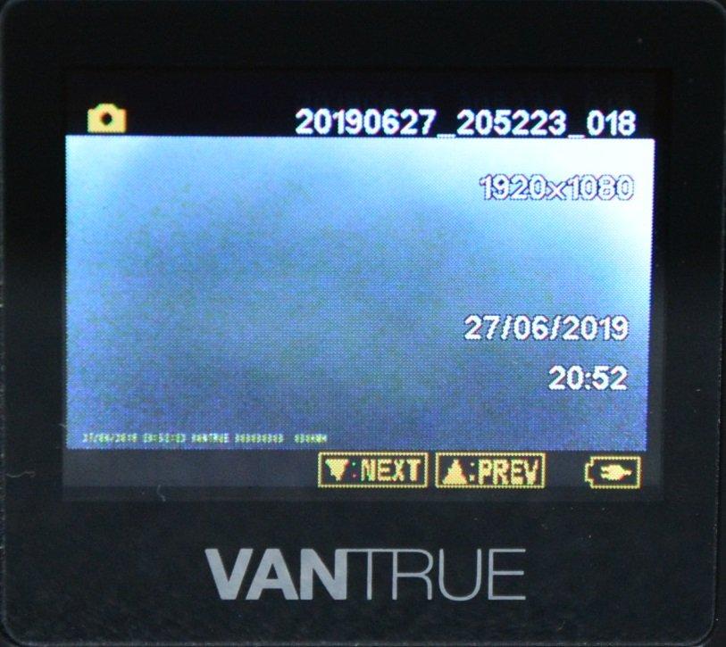 Tiny Vantrue N1 Pro dashcam مع وظائف لائقة جدًا 74