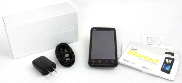 HTC EVO 3D مراجعة الهاتف الذكي 4