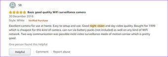أفضل واي فاي كاميرات الأمن الرئيسية في الهند يي