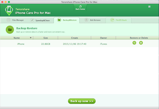 Tenorshare iPhone Care Pro لنظام التشغيل Mac ، وتنظيم وإصلاح وتنظيف اي فون الخاص بك 6