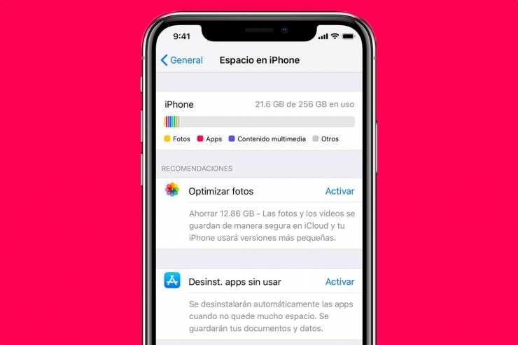 كيفية تحرير الذاكرة على iPhone و Android 2