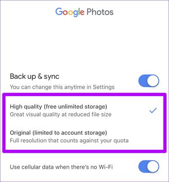صور Google Free Up Space Android Ios Faq 7