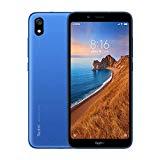 الهواتف الذكية Xiaomi Redmi 7A بسعة 2 غيغابايت من ذاكرة الوصول العشوائي + ذاكرة وصول عشوائي بسعة 32 جيجا بايت ، وشاشة بحجم 5.45 بوصة ، ومعالج ثماني النواة ، وكاميرات أمامية بدقة 5 ميجابكسل ، وكاميرا بدقة 13 ميجابكسل (أزرق)