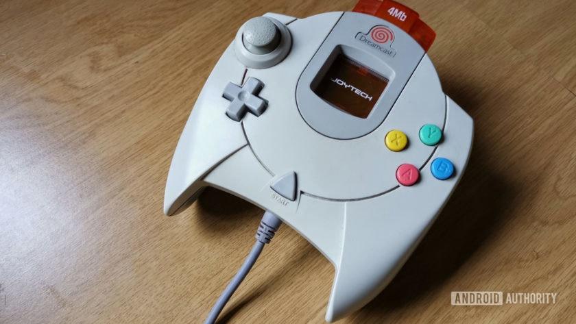وحدة تحكم Sega Dreamcast.