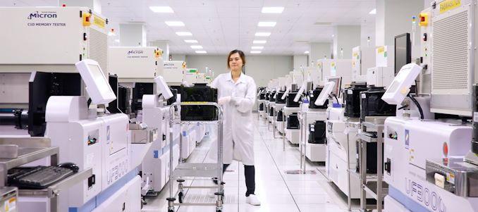 اكتمال التوسع Micron's Fab 10: بدأ إنتاج طبقة NAND ثلاثية الأبعاد 96 طبقة في عام 2019 1