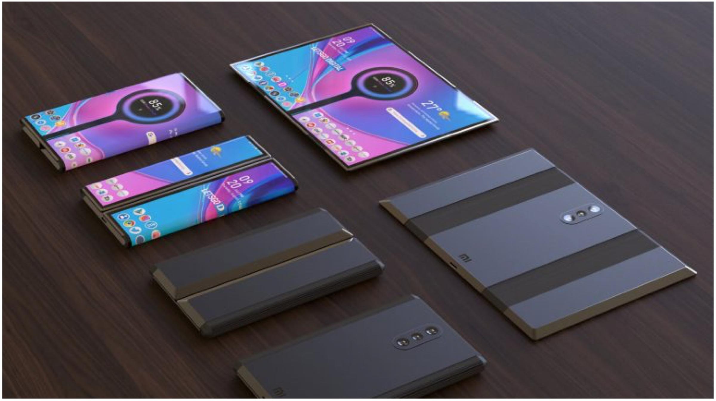براءات الاختراع Xiaomi هاتف ذكي يتحول إلى جهاز لوحي 1