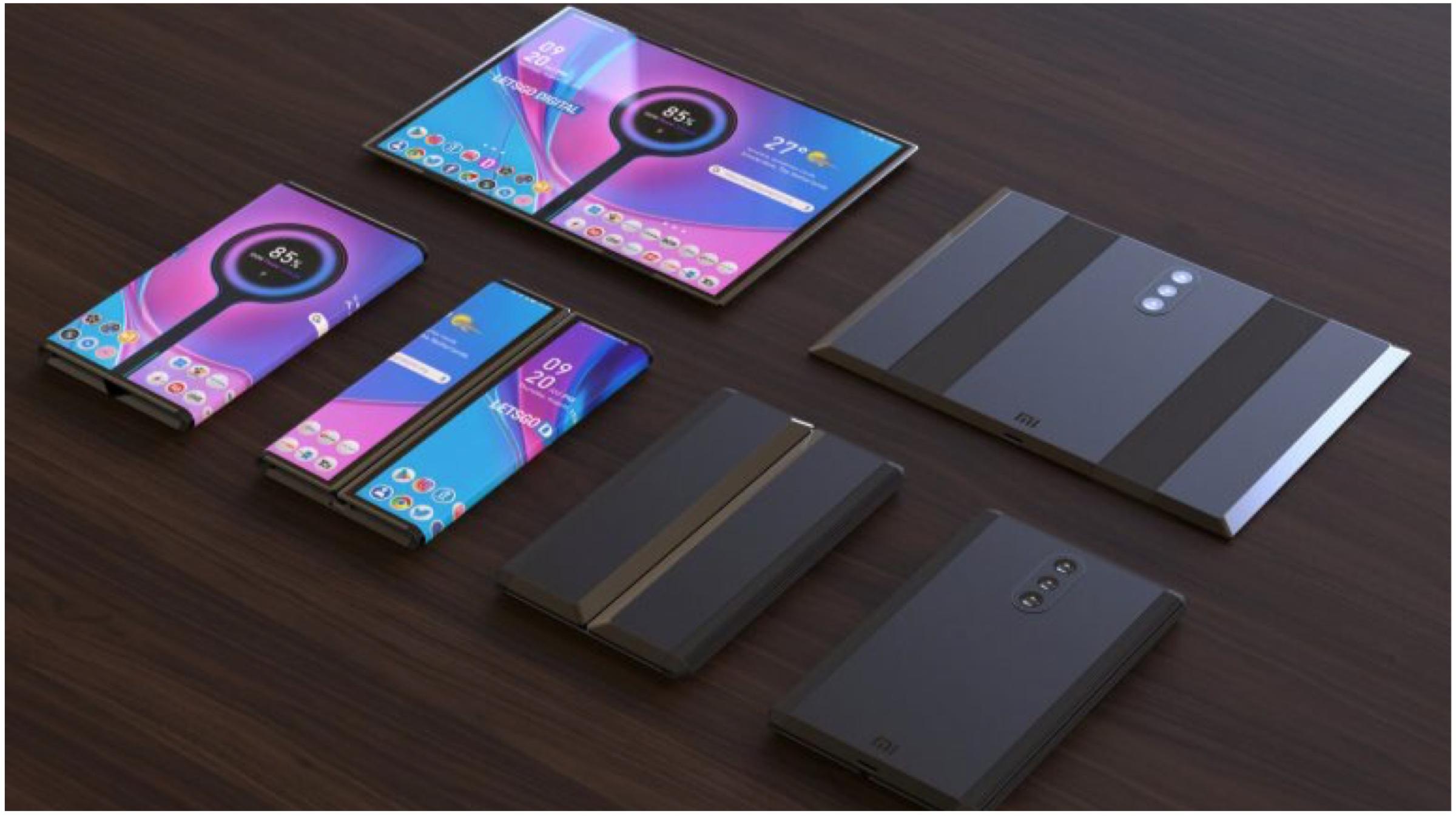 براءات الاختراع Xiaomi هاتف ذكي يتحول إلى جهاز لوحي 2
