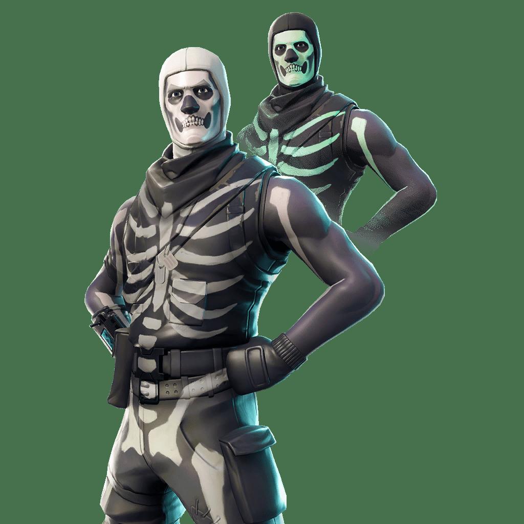 Fortnite Skin - Skull Trooper