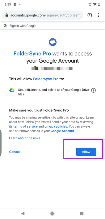كيفية مزامنة الملفات والصور تلقائيًا إلى Google Drive على Android 22