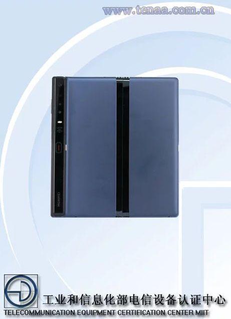 يتم إدراج Huawei Mate X في قائمة TENAA ، مع تصميم جديد ومكونات 1