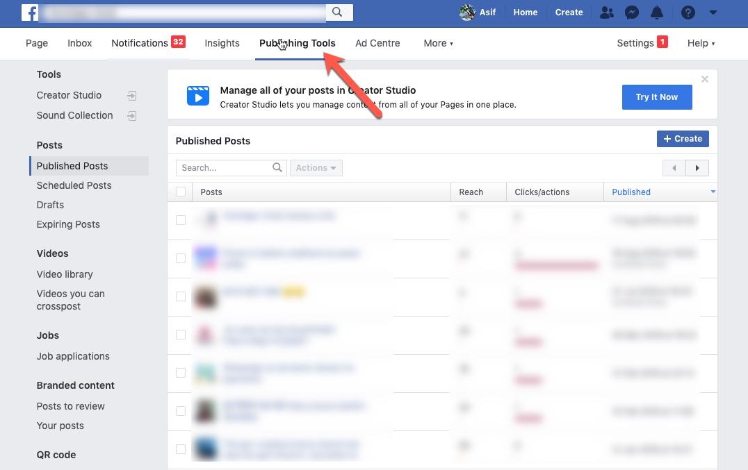 كيفية حذف الشامل Facebook المشاركات في آن واحد 4