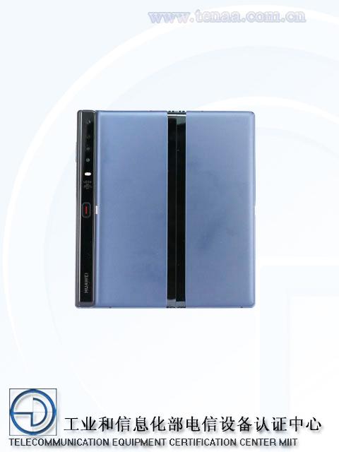 تؤكد صور Huawei Mate X TENAA حدوث تغييرات جديدة ، ويمكن إطلاقها مبكراً في الصين 2
