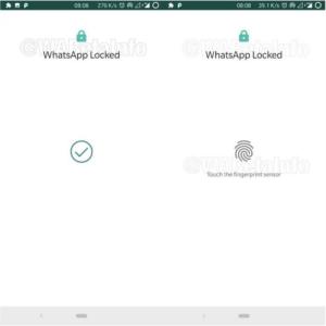 قفل تطبيق WhatsApp لنظام Android من خلال أحدث ميزاته - Fingerprint Lock
