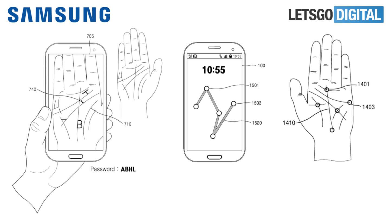 مستقبل Galaxy الهواتف لميزة سامسونج النخيل النخيل الاستشعار 2