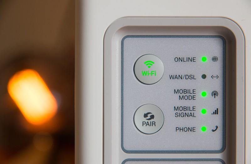 انشاء شبكة لاسلكية في المنزل