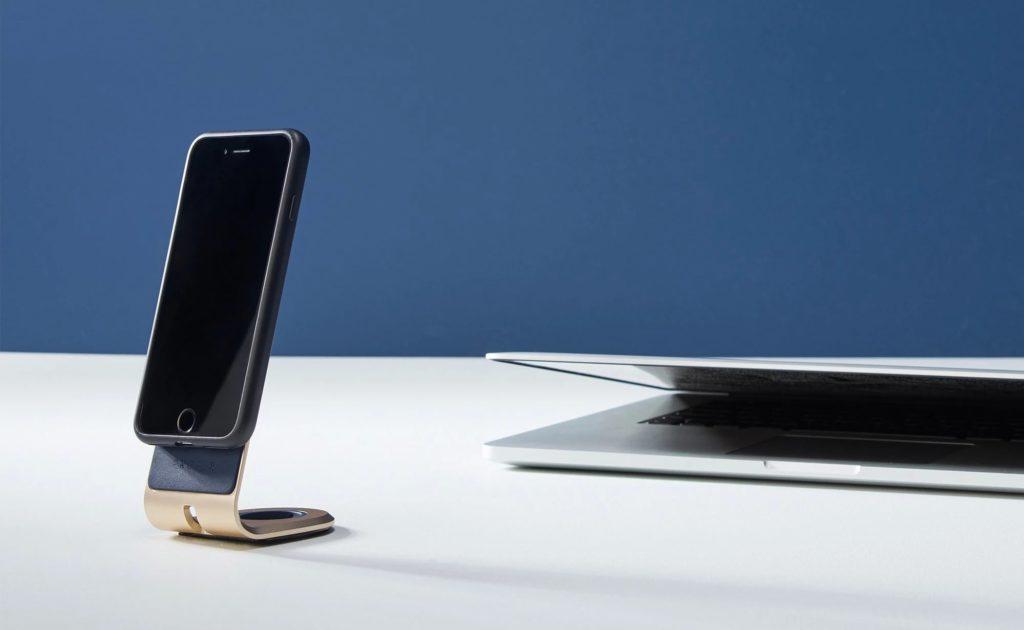 حامل مكتب iPhone السليم حامل الهاتف الذكي