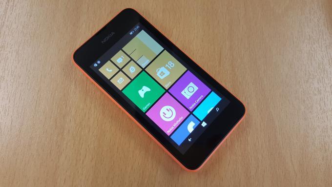 نوكيا Lumia 530 شاشة البداية