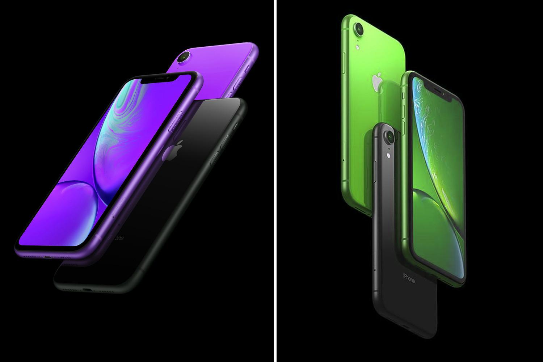 في وقت سابق من هذا العام، Appleيشاع iPhone الجديد للحصول على الخزامى و paintjobs الخضراء