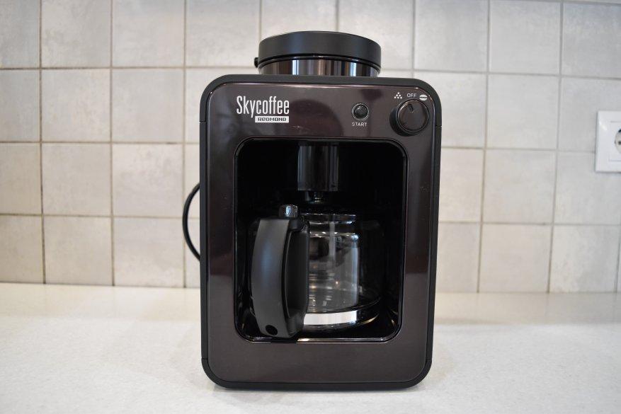 ماكينة صنع القهوة الذكية Redmond SkyCoffee M1505S-E: هل ما زلت تحضر القهوة؟ 4