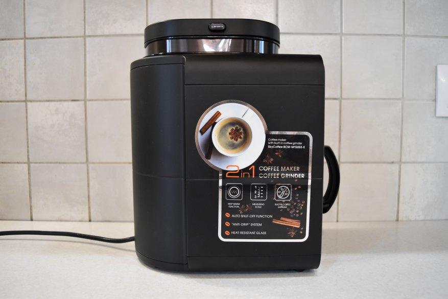 ماكينة صنع القهوة الذكية Redmond SkyCoffee M1505S-E: هل ما زلت تحضر القهوة؟ 7