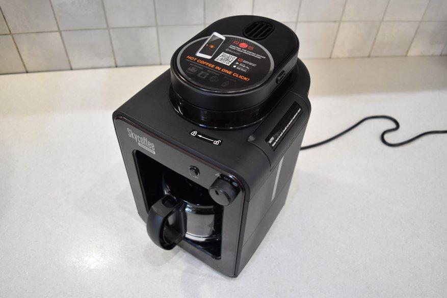 ماكينة صنع القهوة الذكية Redmond SkyCoffee M1505S-E: هل ما زلت تحضر القهوة؟ 9