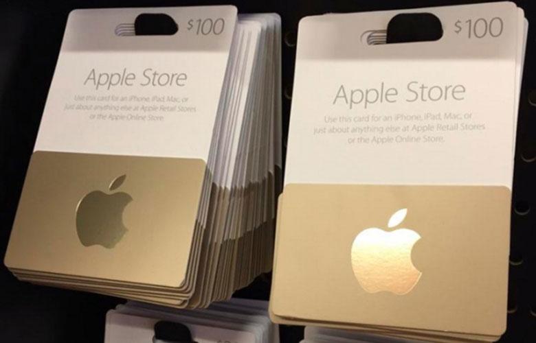Apple يدعم Store Store الآن بطاقات الهدايا أو بطاقات الهدايا 2