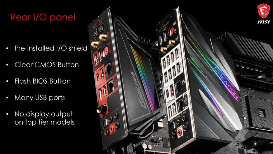 جديد على MSI ، الجزء الأول: اللوحات الأم AMD X570 25