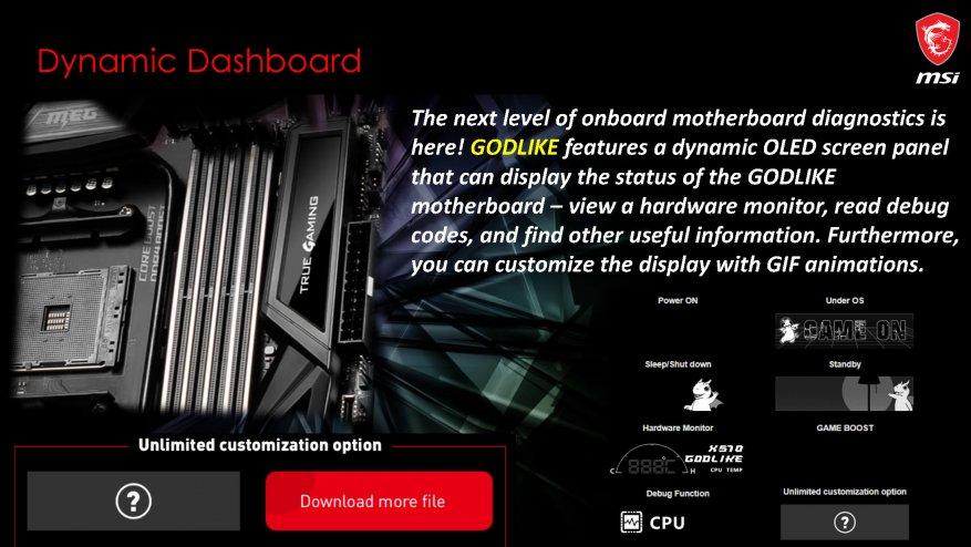جديد على MSI ، الجزء الأول: اللوحات الأم AMD X570 29