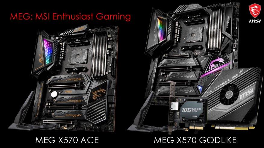 جديد على MSI ، الجزء الأول: اللوحات الأم AMD X570 38