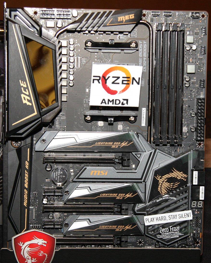 جديد على MSI ، الجزء الأول: اللوحات الأم AMD X570 39