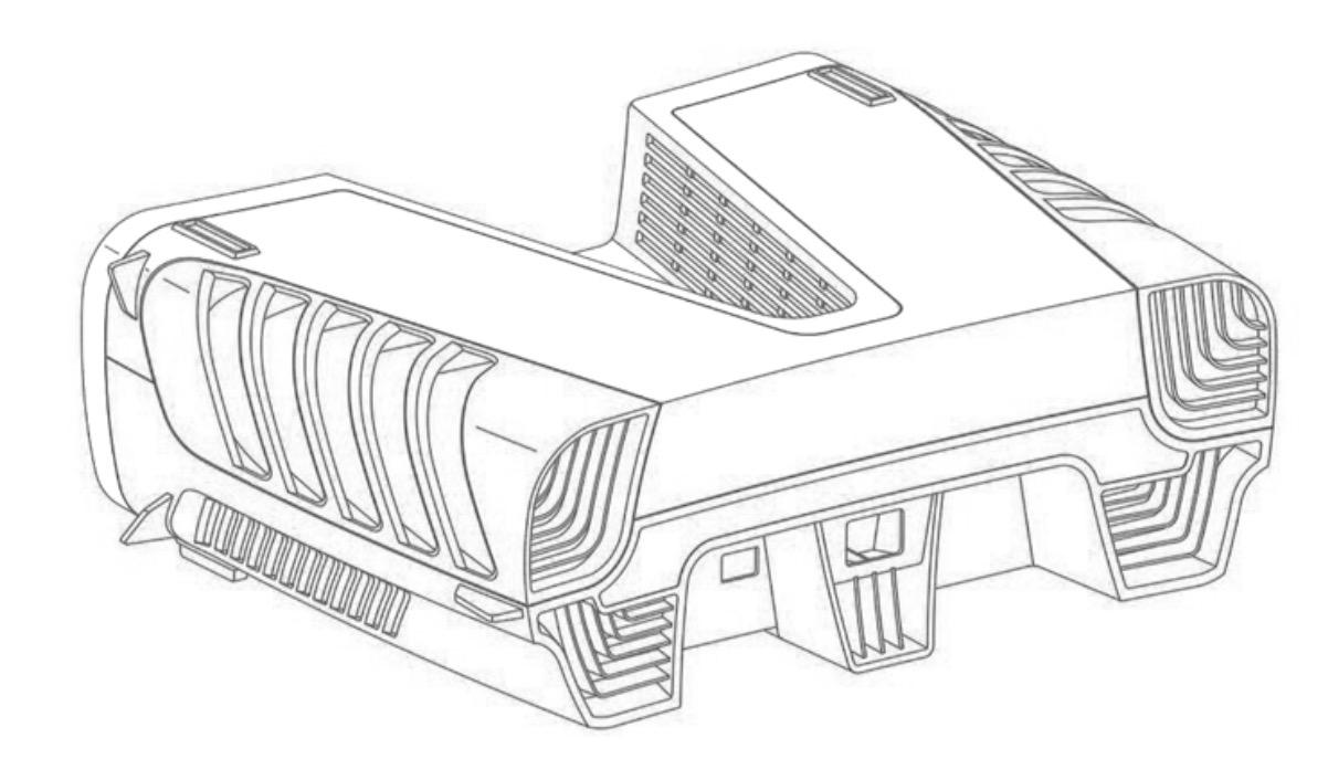 يعتقد الكثيرون أننا ننظر إلى تصميم وحدة التحكم في PlayStation 5 2