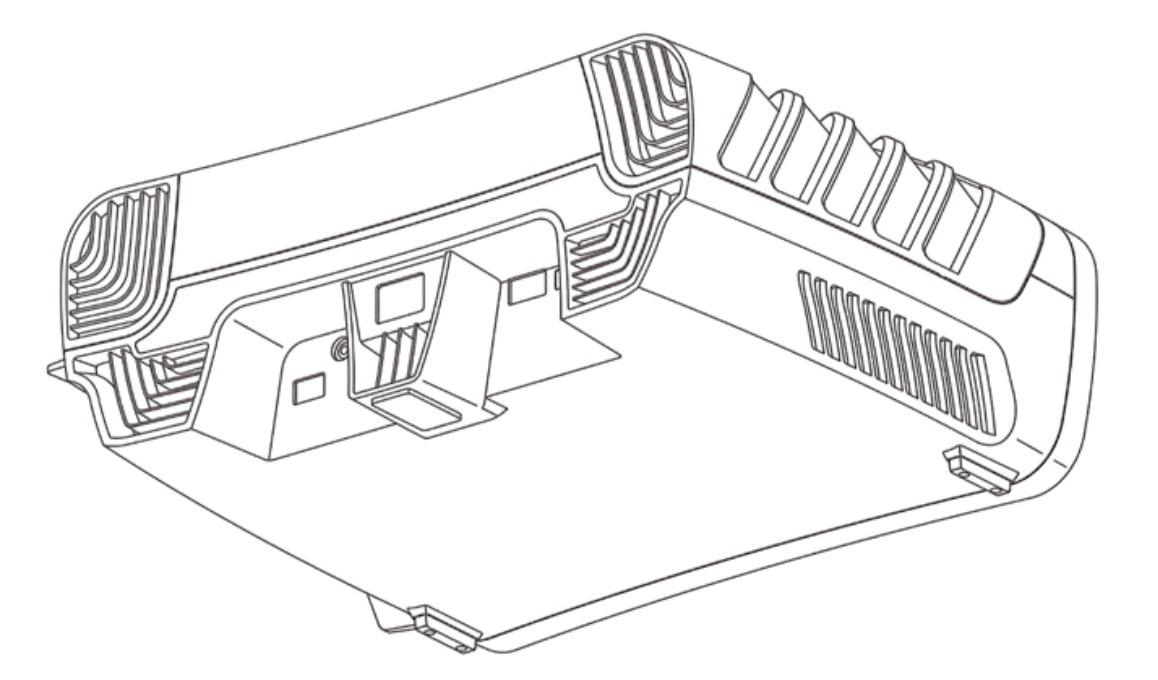 يعتقد الكثيرون أننا ننظر إلى تصميم وحدة التحكم في PlayStation 5 3